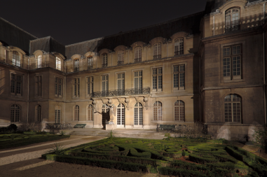 Musée Carnavalet vu de nuit