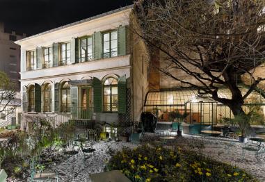 Musée de la Vie romantique vu de nuit