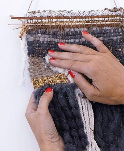 Aurelie soligny - attrape reves tissage laine
